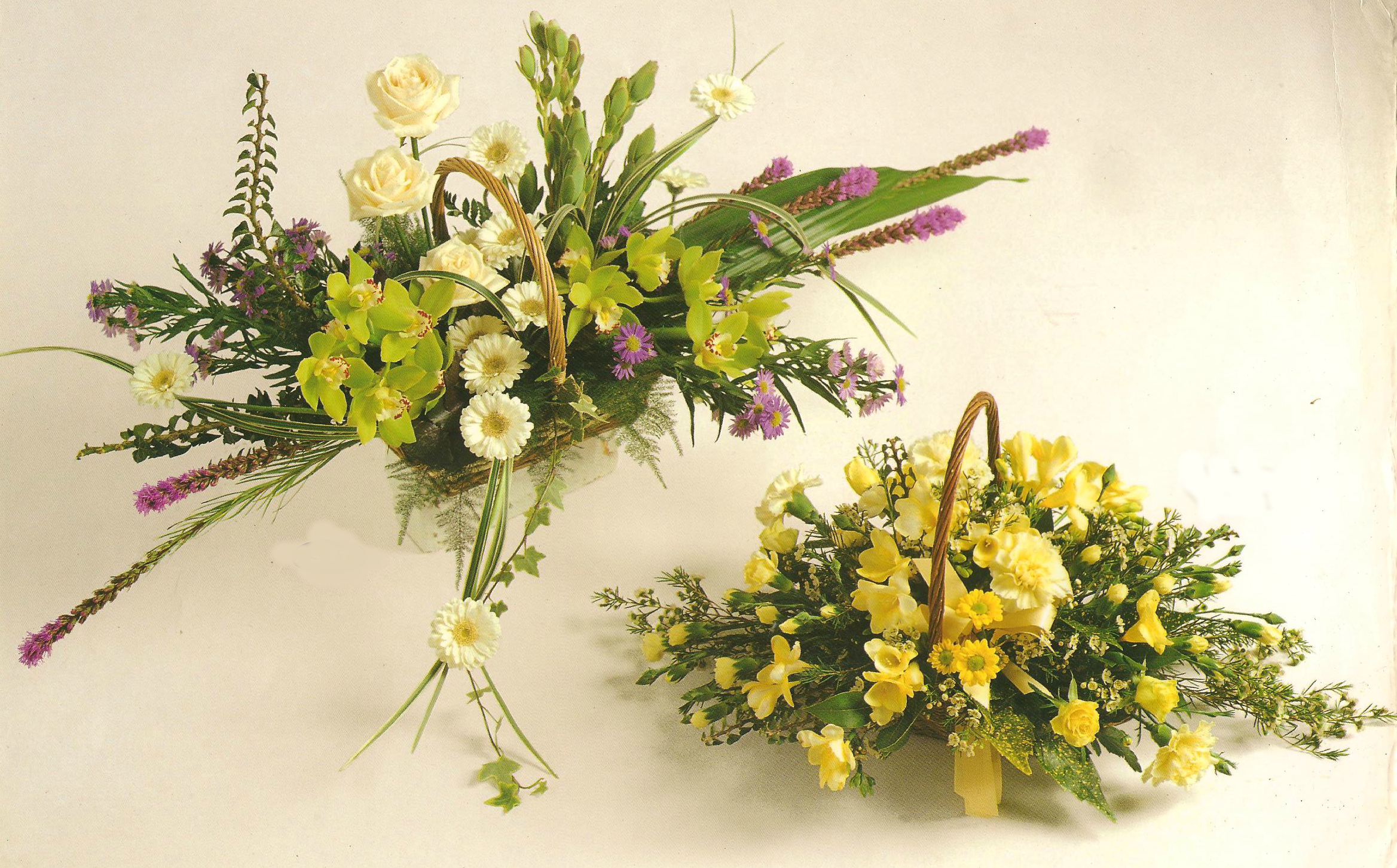Funeral Baskets starting from £30 going up in £5s A27 A28