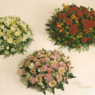 """Mixed Flower Loose Posy pads A34 A35 A36. 12"""" £35 14"""" £45, 16"""" £55, 18""""£65"""