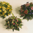 Mixed flower Posy Dishes A37 A38 A39. Start at £25 and go up in £5s.